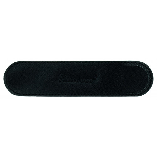 KAWECO LILIPUT ECO LEATHER POUCH - BLACK - HOLDS 1 PEN
