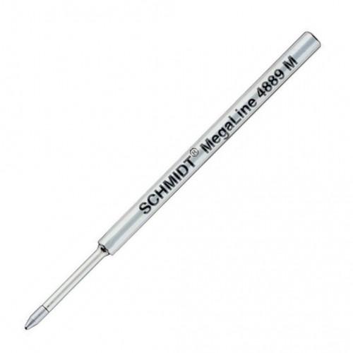 SCHMIDT MEGALINE PRESSURISED BALLPOINT REFILLS - S 4889 - BLACK