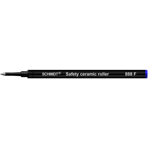 SCHMIDT CERAMIC ROLLERBALL REFILLS - 888 - BLUE - FINE - PACK OF 500