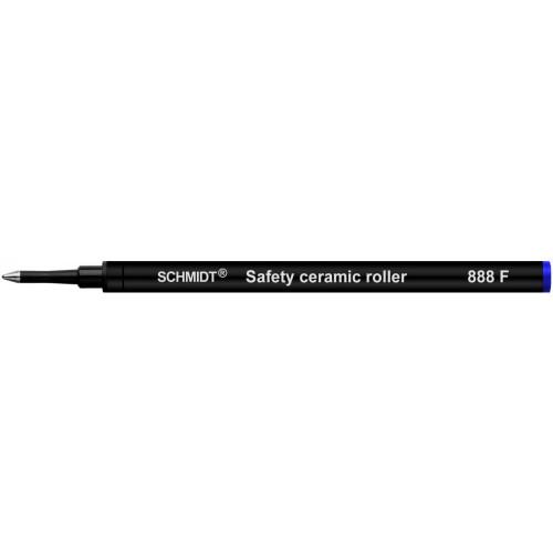 SCHMIDT CERAMIC ROLLERBALL REFILLS - 888 - BLUE - FINE - PACK OF 500