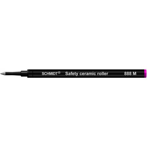 SCHMIDT SAFETY CERAMIC ROLLERBALL REFILLS - SRC 888 - MAGENTA - MEDIUM