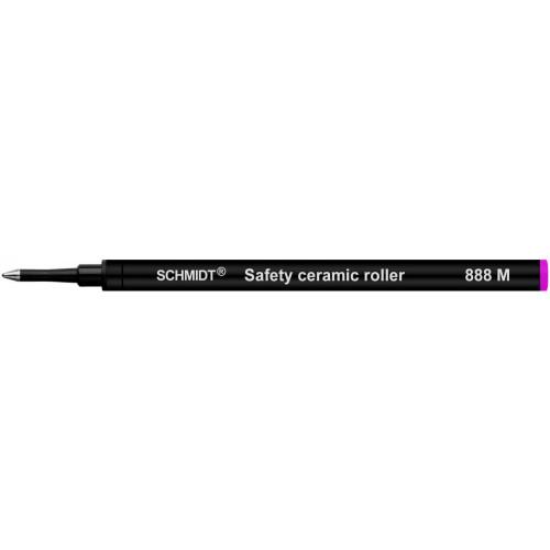 SCHMIDT CERAMIC ROLLERBALL REFILLS - 888 - PINK - MEDIUM - PACK OF 10