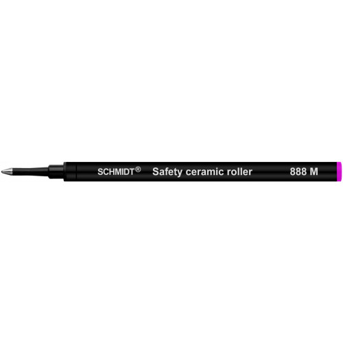 SCHMIDT SAFETY CERAMIC ROLLERBALL REFILLS - SRC 888 - PINK - MEDIUM