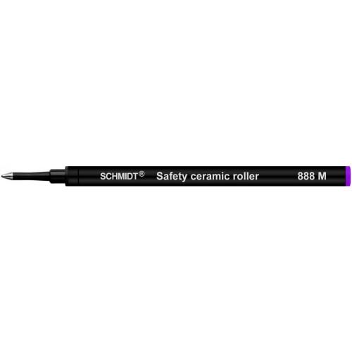 SCHMIDT SAFETY CERAMIC ROLLERBALL REFILLS - SRC 888 - PURPLE - MEDIUM