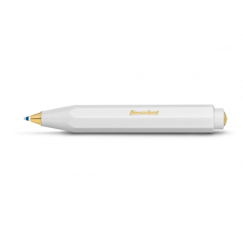 KAWECO CLASSIC SPORT BALLPOINT PEN - WHITE