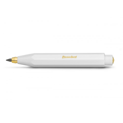 KAWECO CLASSIC SPORT PENCIL 3.2MM LEAD -  WHITE