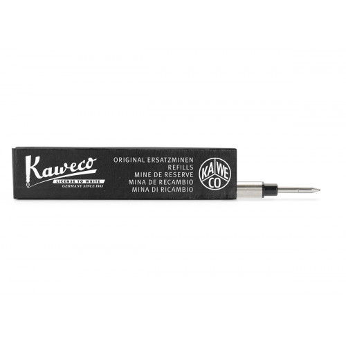 KAWECO EURO ROLLERBALL REFILL - BLACK - F