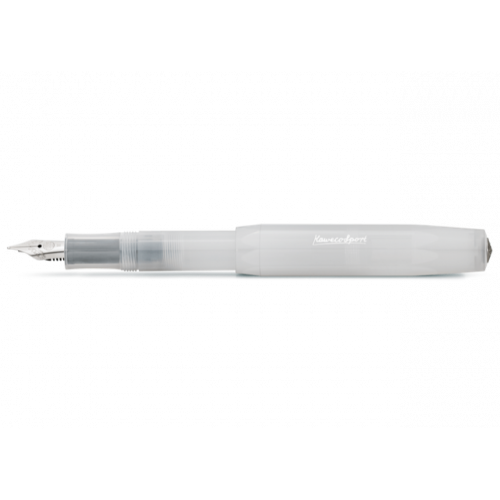KAWECO FROSTED SPORT FOUNTAIN PEN - NATURAL COCONUT