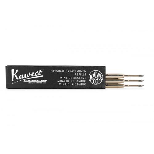 KAWECO G2 BALLPOINT REFILLS - BLACK - F