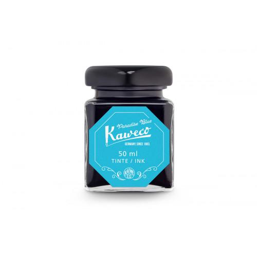 KAWECO BOTTLED INK - 50ml - PARADISE BLUE