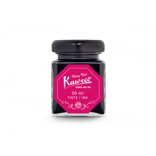 KAWECO BOTTLED INK - 50ml - RUBY RED