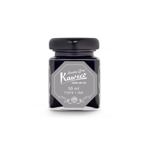 KAWECO BOTTLED INK - 50ml - SMOKEY GREY