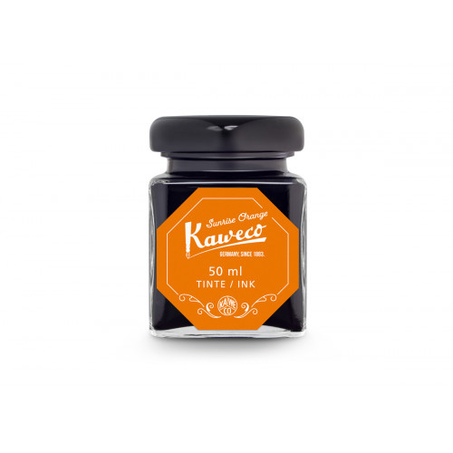 KAWECO BOTTLED INK - 50ml - SUNRISE ORANGE