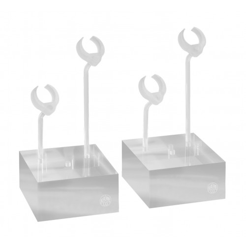 KAWECO ACRYLIC PEN STAND WITH 2 STICKS  - PACK OF 2