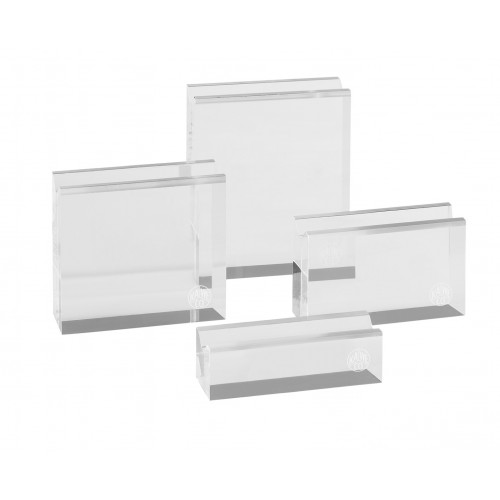KAWECO CLEAR ACRYLIC STANDS - SET OF 4