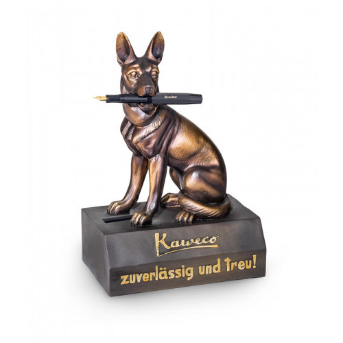 KAWECO GERMAN SHEPHERD PEN HOLDER & MONEY BOX