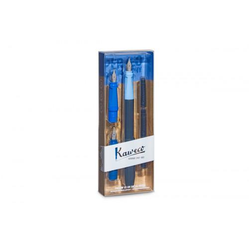 KAWECO PERKEO CALLIGRAPHY SET - BLUE