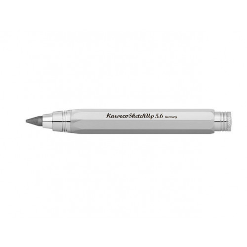 KAWECO SKETCH UP PENCIL 5.6MM LEAD - SATIN CHROME