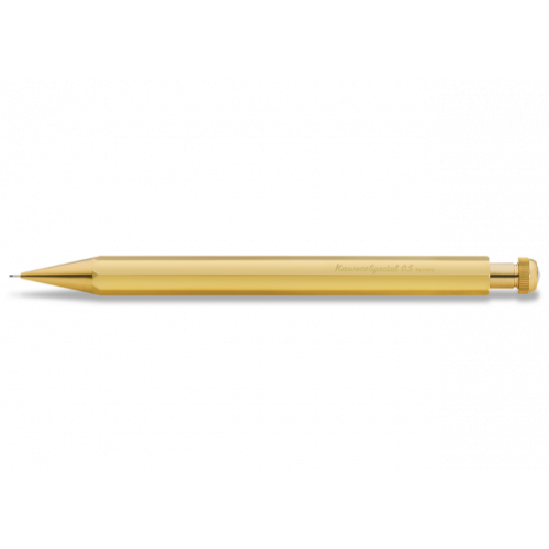 KAWECO SPECIAL BRASS PENCIL - 0.5MM LEAD - LONG