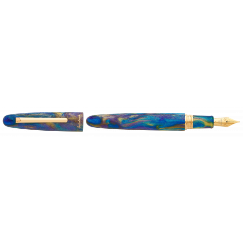 ESTERBROOK ESTIE PEACOCK COLLECTION - OVERSIZE FOUNTAIN PEN